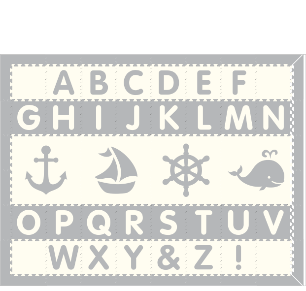 Nautical Alphabet 1