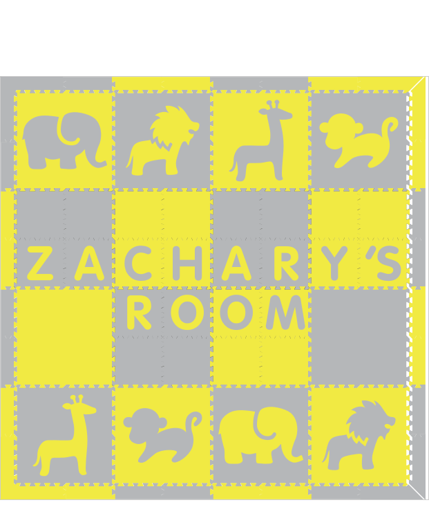 Zachary's Room  Safari YH 8x8