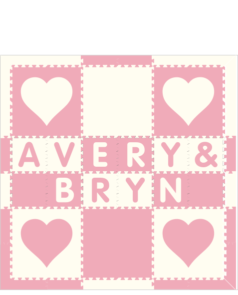 XDR3106D-Avery & Bryn Hearts WC 6x6