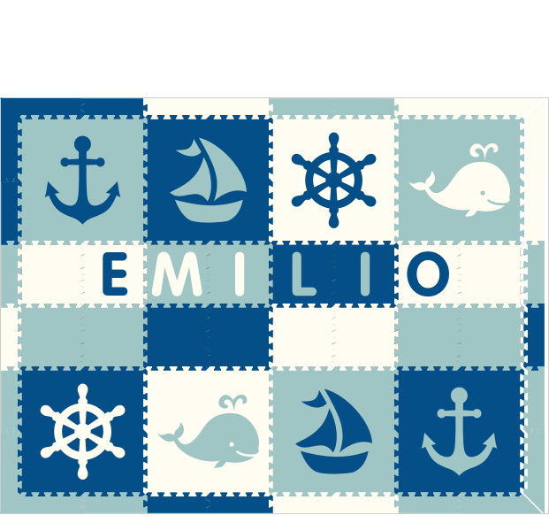 Emilio IC Nautical BWS 6x8