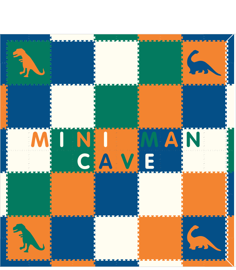 Mini Man Cave IC1 Dinosaurs 10x10