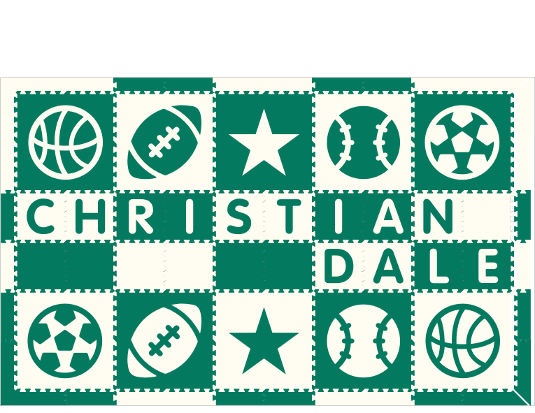 Christian Dale V2 IG Sports Green White 6x10