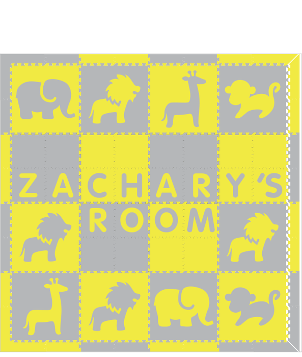 Zachary's Room V2 Safari YH 8x8