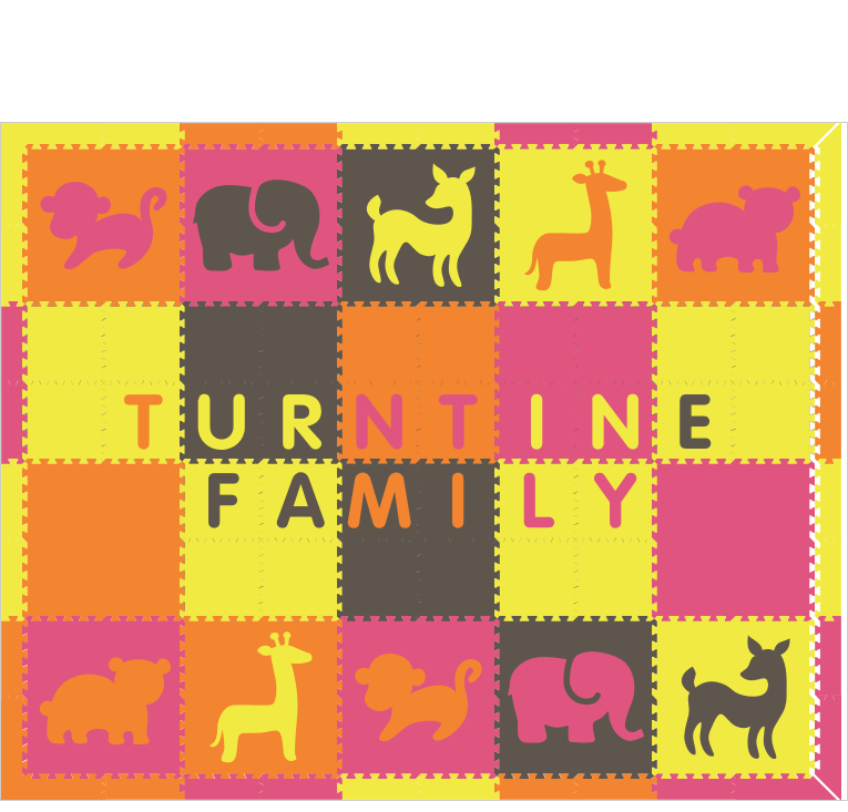 XDR401 Turntime Family Animals 4C 8x10