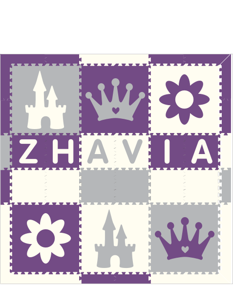 Zhavia Princess Flowers PWH 6x6