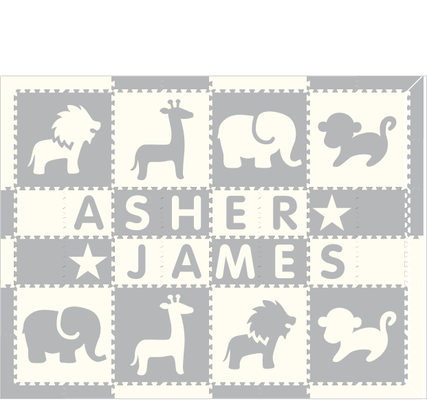 Asher James Safari WH 6x8