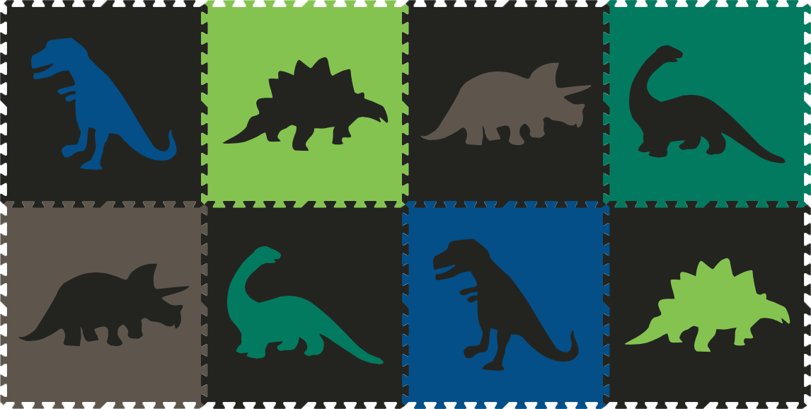 SoftTiles Dinosaurs 8 Piece Sets