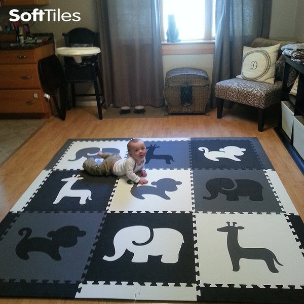 Foam Play Mats For Children Childrens Soft Play Mats