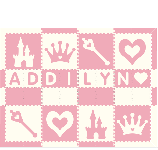 Addilyn Princess WC 6x8