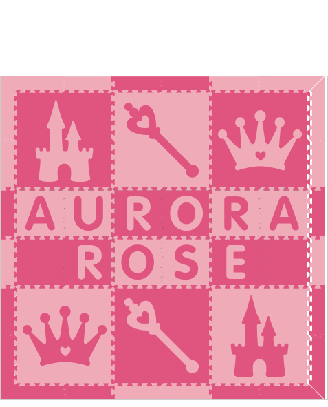 Aurora Rose Princess PC 6x6