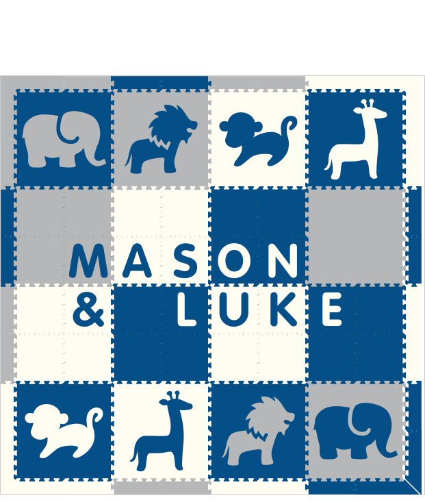 Mason & Luke Safari BWH 8x8