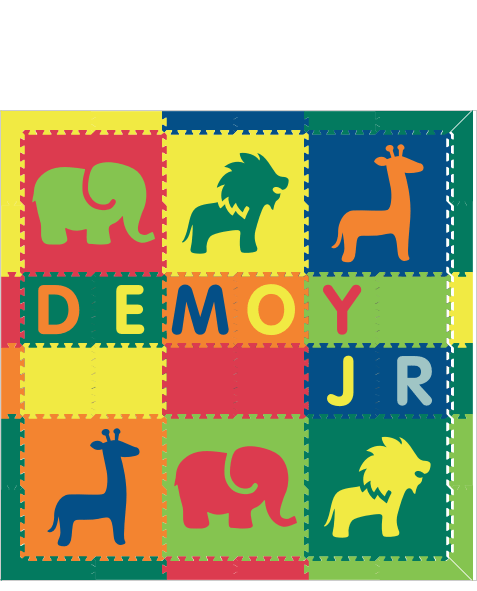 XDR77- Demoy Jr. Safari Colorful 6x6