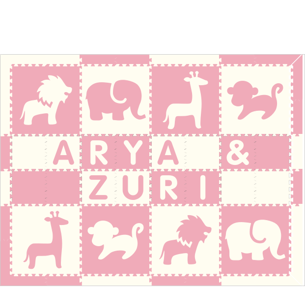 XDR1887-Arya & Zuri Safari WC 6x8