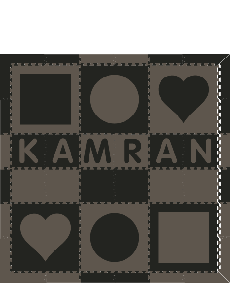 XDR3761-Kamran Shapes BG 6x6