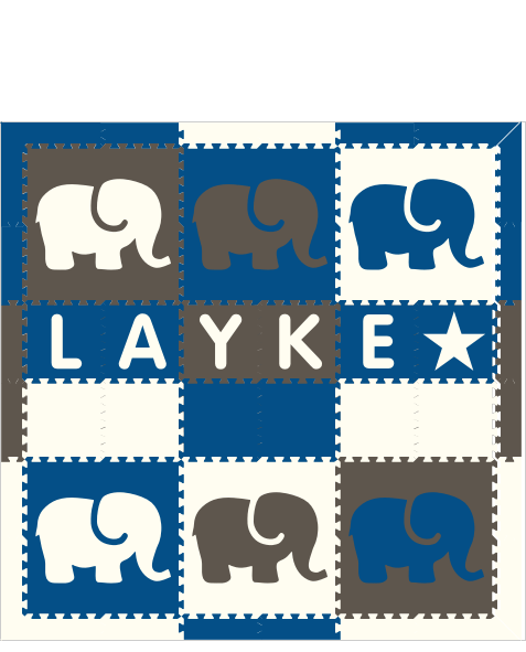 Layke IC Elephants BGW 6x6