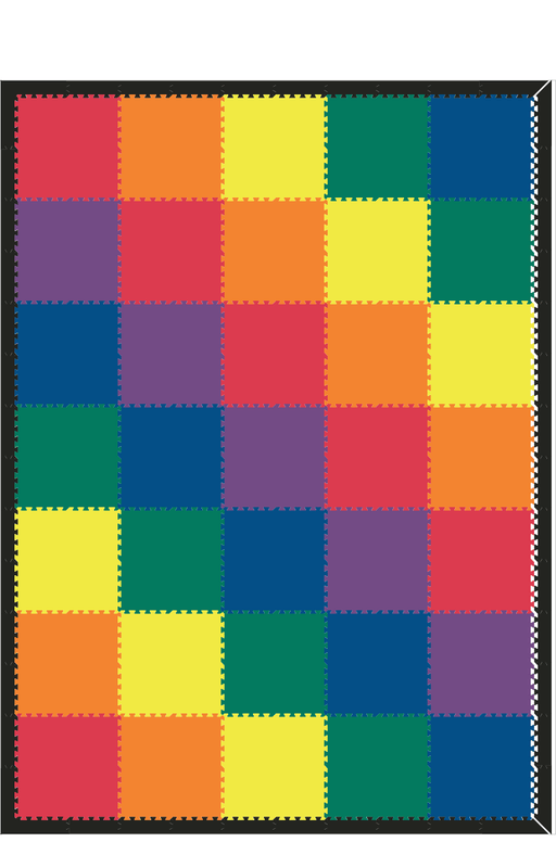 M458- Solids Rainbow 10x14