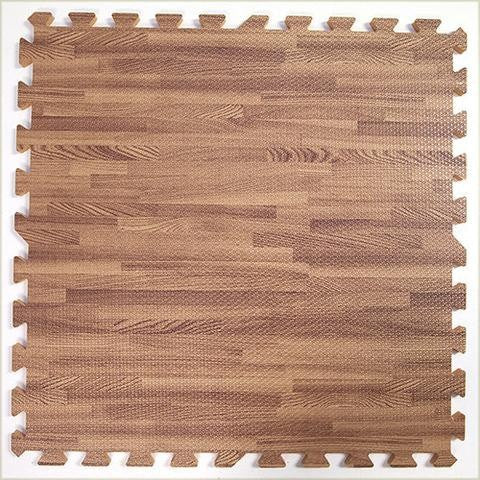 SoftTiles Oak Wood Grain 2x2 Foam Mats