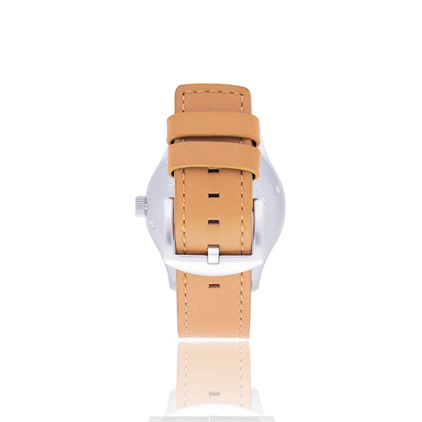 Phantom 3.0 - Tan Leather / Silver