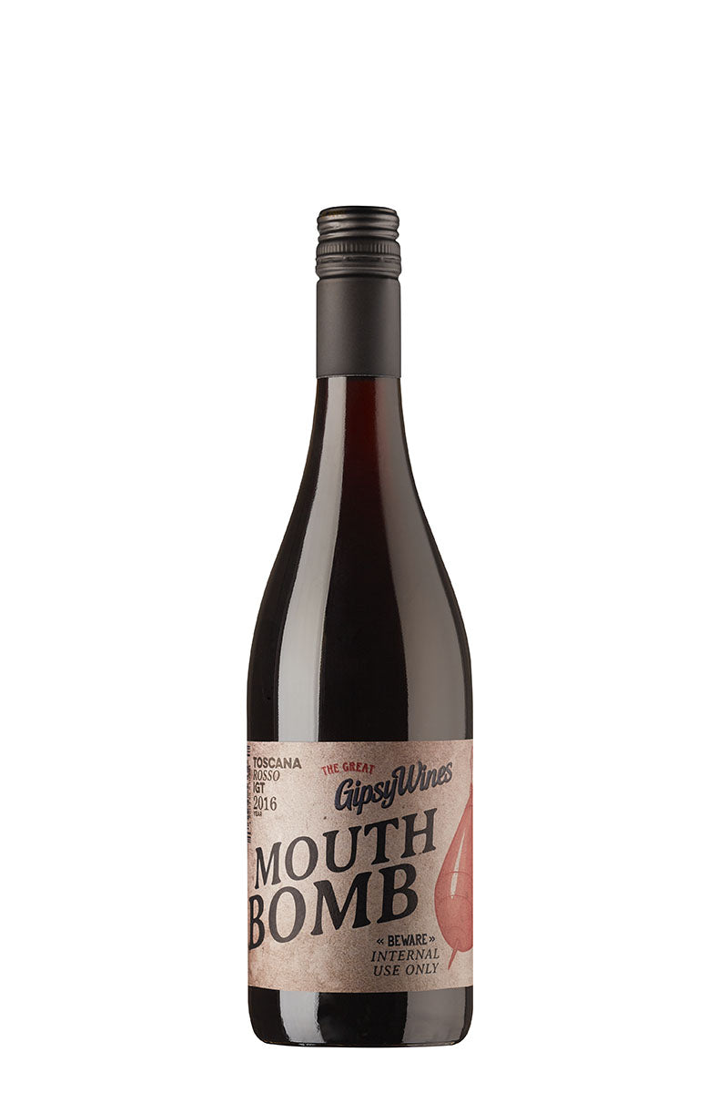 MOUTH BOMB von Gipsy Wines, Rotwein