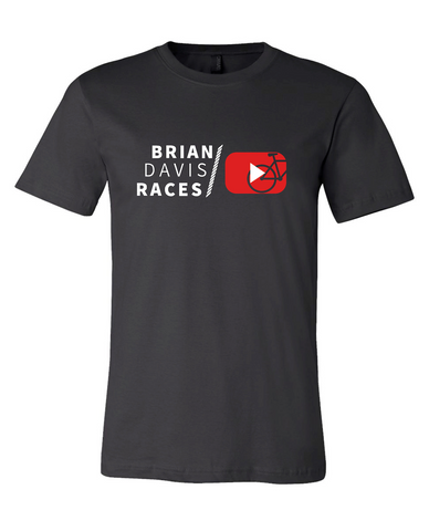 Brian Davis Races (and you can too) T-Shirt