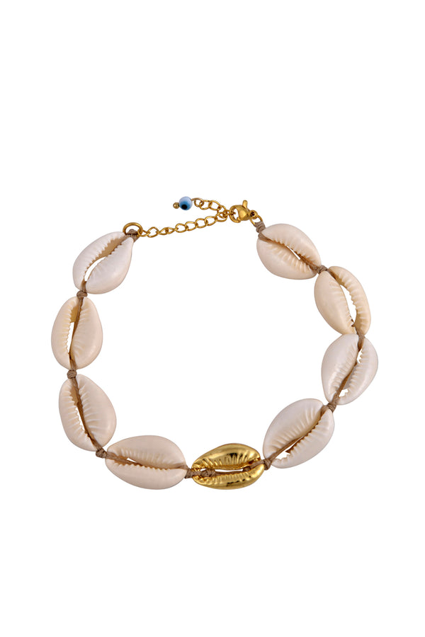 The Cowrie Anklet