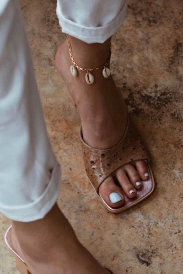 Cowries Chain Anklet