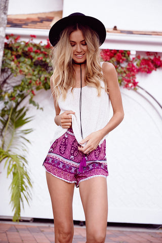 Botanical Shorts | Cobalt