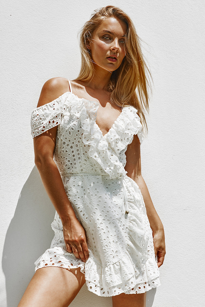 Mallorca Luxe Sundress | Seashell