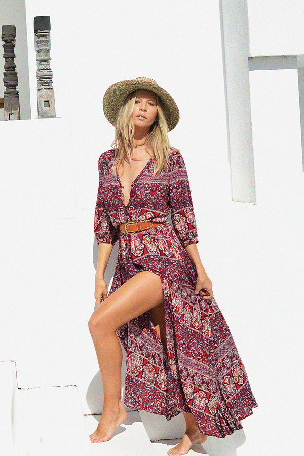 Oracle Maxi Dress | Sangria