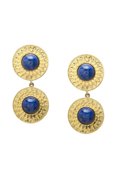 Soleil Earrings | Lapis