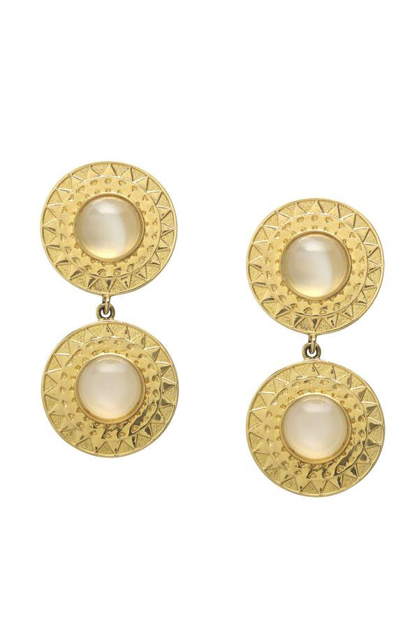 Soleil Earrings | Moonstone
