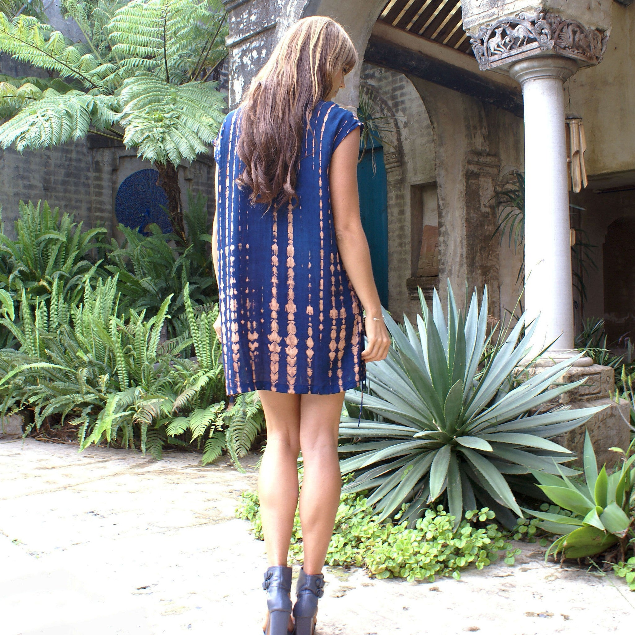 Zuri Shift Dress | Indigo Phoenix