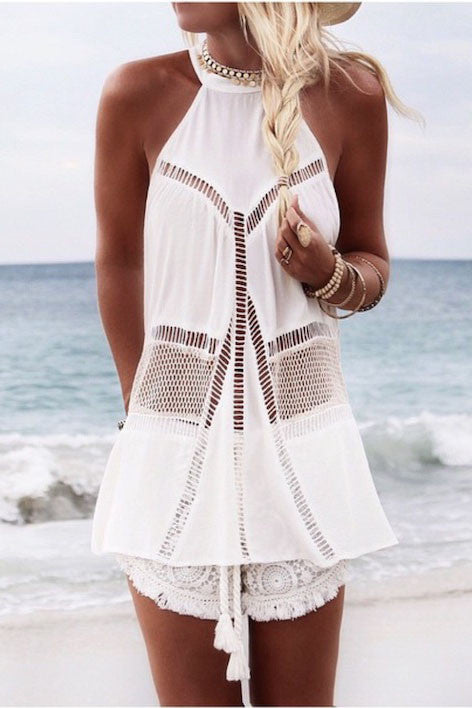 Rise & Shine Tunic | White