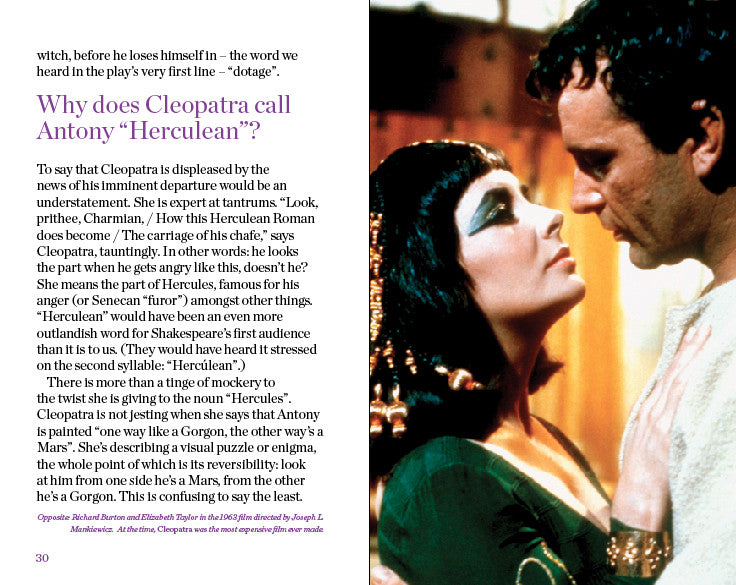 an examination of anthony and cleopatra as a great shakespearean tragedy - cleopatra in william shakespeare's antony and cleopatra this passage paints a very vivid image of the egyptian queen, cleopatra shakespeare uses a great deal of hyperbolic imagery and exaggerated language to achieve this.