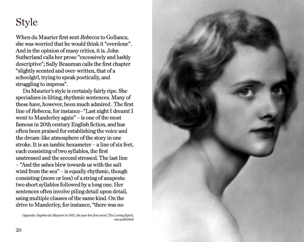 an analysis of an essay on du mauriers rebecca Ebscohost serves thousands of libraries with premium essays, articles and other content including daphne du maurier's rebecca: the shadow and the substance get access to over 12 million other articles.