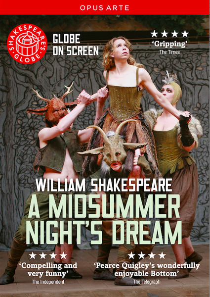 DVD: Shakespeare's A Midsummer Night's Dream