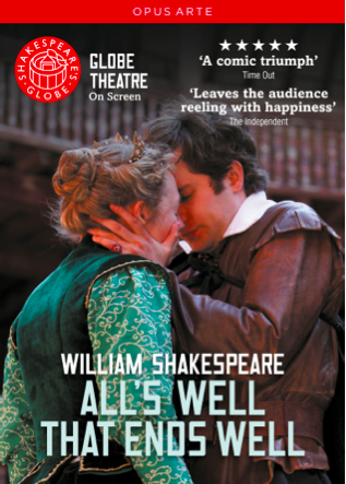 DVD: Shakespeare's All's Well That Ends Well