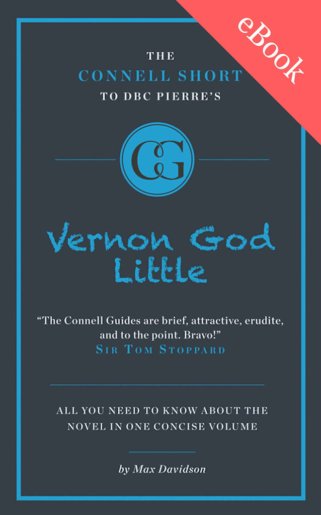 DBC Pierre's Vernon God Little Short Study Guide eBook