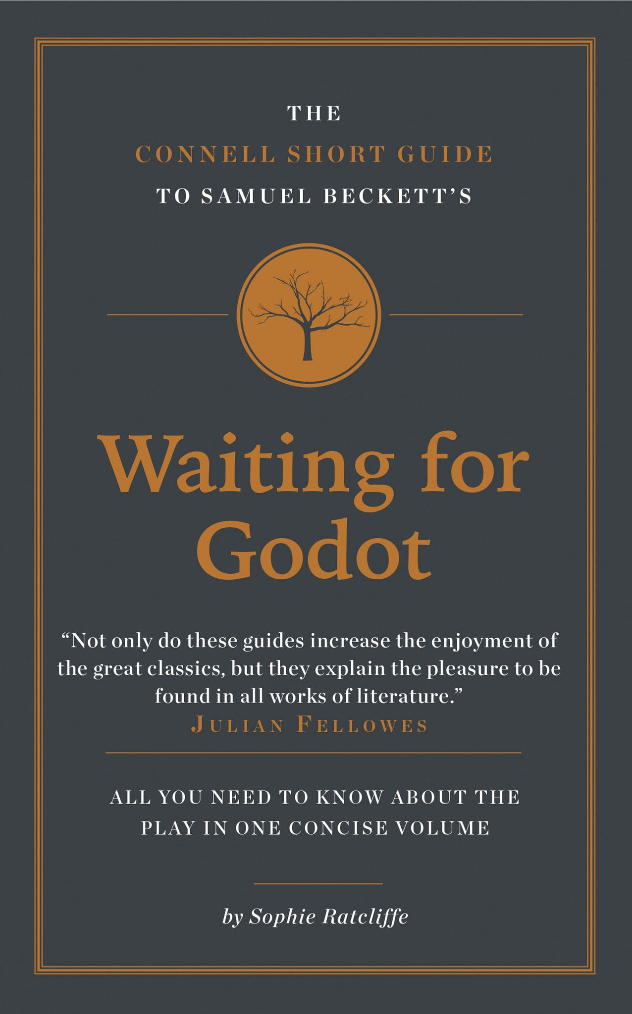 samuel beckett s waiting for godot short study guide connell guides  samuel beckett s waiting for godot short study guide