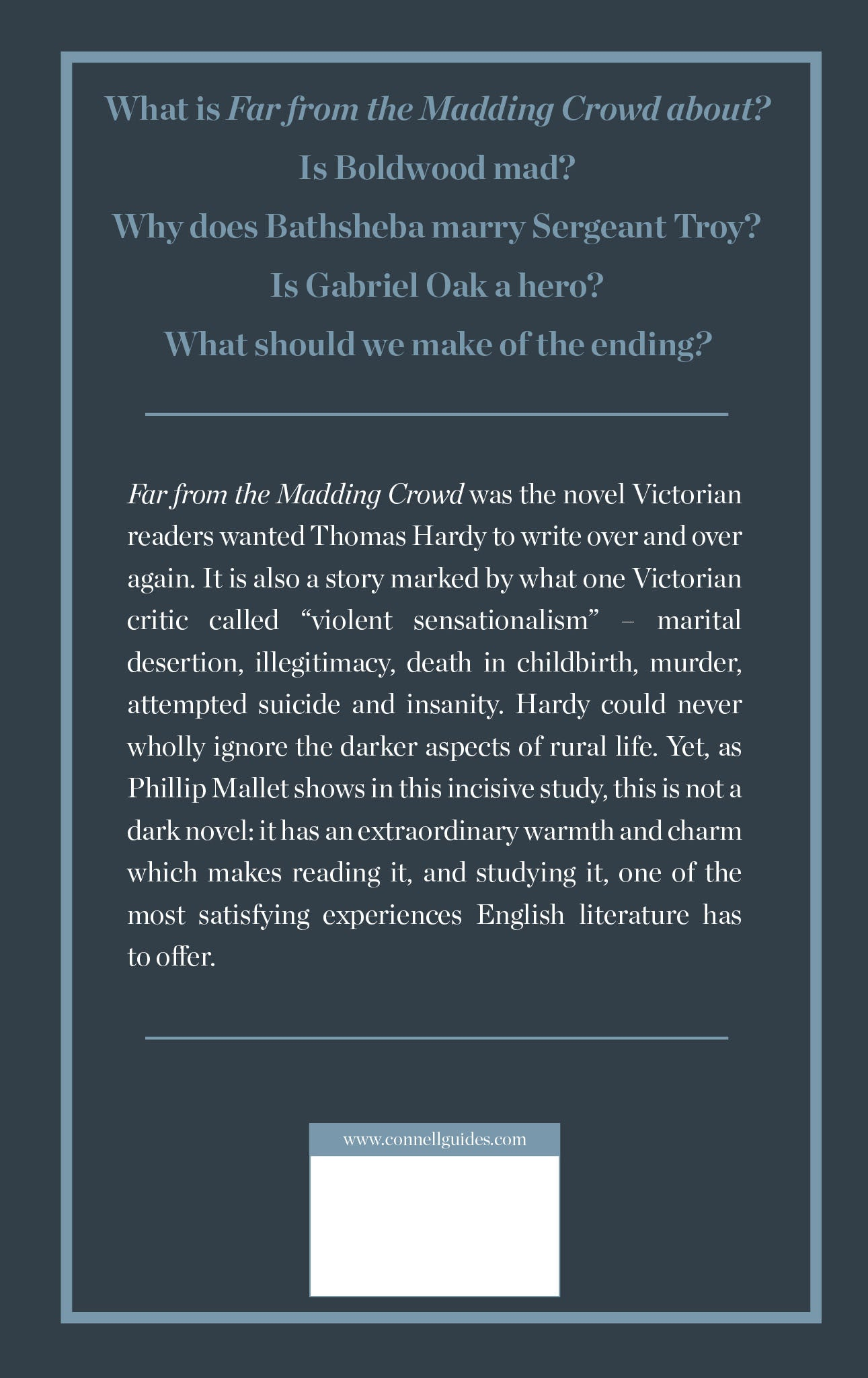 an analysis of far from the madding crowd a novel by thomas hardy This study guide and infographic for thomas hardy's far from the madding crowd offer summary and analysis on themes, symbols, and other literary devices found in the text explore course hero's library of literature materials, including documents and q&a pairs.