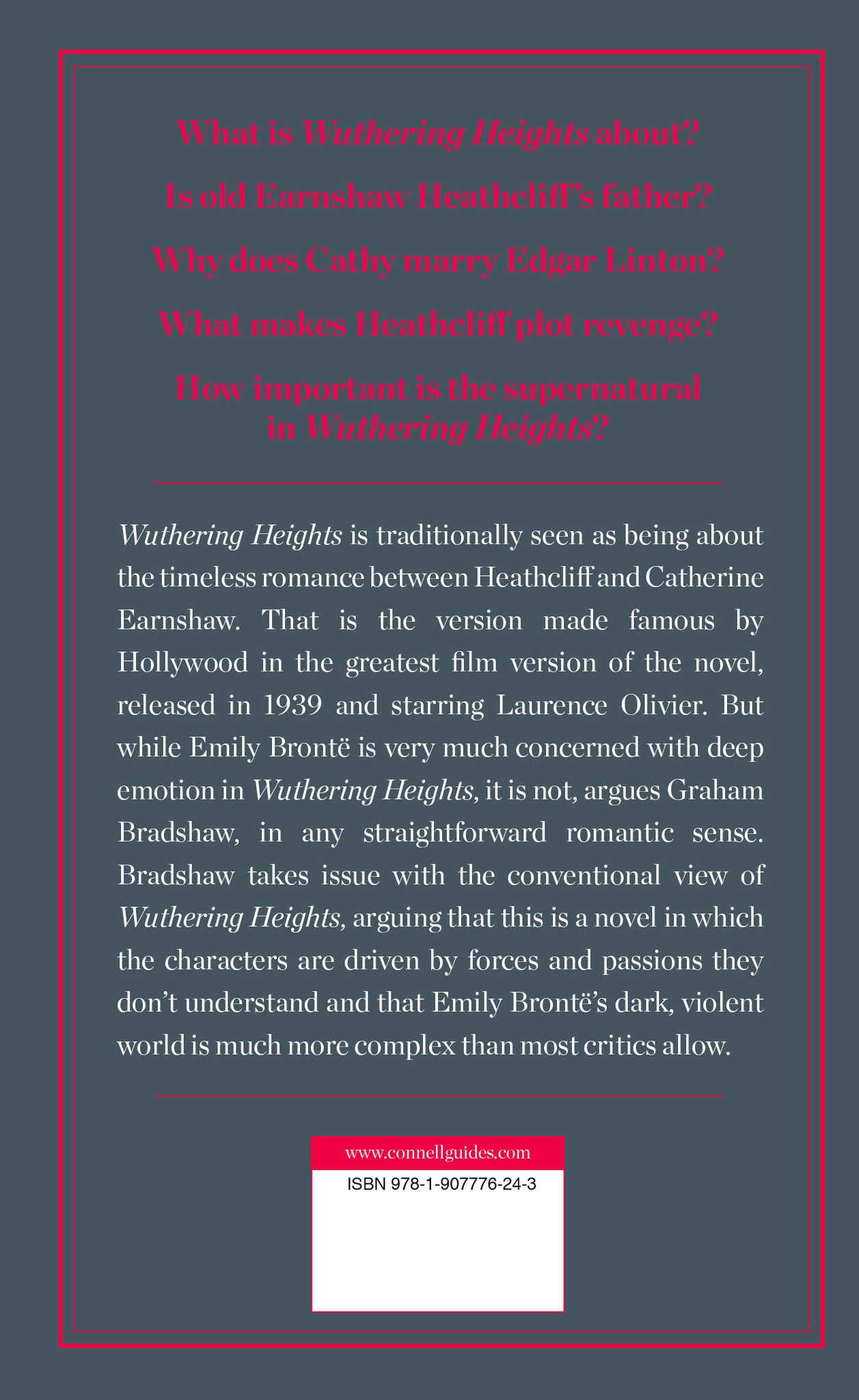 wuthering heights critical essays th grade honors gifted file  emily bront euml s wuthering heights study guide connell guides emily bronteuml s wuthering heights study
