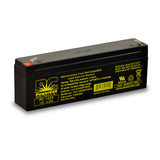 PowerCell PC1223 12V 2.3 Ah Sealed Lead Acid Battery