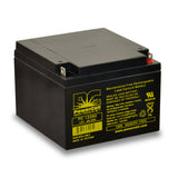 PowerCell PC12260 12V 26.0 Ah Sealed Lead Acid Battery