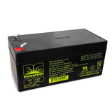 PowerCell PC1230 12V 3.0 Ah Sealed Lead Acid Battery