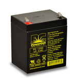 PowerCell PC1250 12V 5.0 Ah Sealed Lead Acid Battery