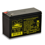 PowerCell PC1275F2 12V 7.5 Ah Sealed Lead Acid Battery