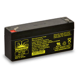 PowerCell PC633 6V 3.3 Ah Sealed Lead Acid Battery
