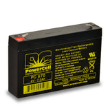 PowerCell PC670 6V 7.0 Ah Sealed Lead Acid Battery