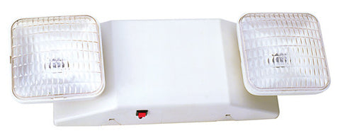 PCEM1RC Emergency Light with Remote Capability and WHITE Housing