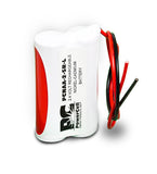PowerCell PCNAA-2-SR-L, 2.4V Nicad Battery Assembly